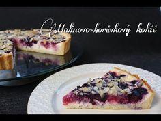 Malinovo-borůvkový koláč s drobenkou (Low carb)