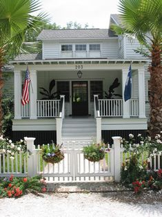 cottage with wonderful front porch