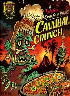 Cereal Killers: Justin Parpan's Cannibal Crunch
