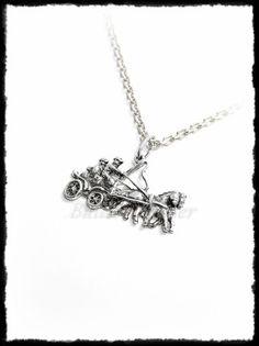 Ezüst nagy fogathajtó medál Silver Horse, Equestrian, Pendants, Sports, Jewelry, Jewlery, Jewels, Trailers, Sport