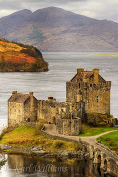 Eilean Donan Castle, Loch Duich, Kintail, Scotland, UK