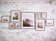 Framed photos will also be a big hit this year for your dreamy home, so we picked eight arrangements that you can use to organize your favorite pictures. Get inspired, be organized and start making a splendid gallery wall: 1. On the center This is one of the easiest photo walls you can try for …
