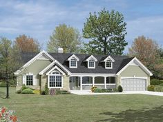 country ranch house plans | Country house plans cape cod and new england plans ranch house plans