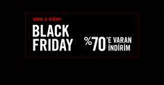 Black Friday'e özel %70 indirimde son 48 saat!