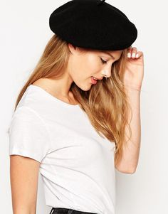 0e8fe58e156 Shop Pieces Beret Hat at ASOS.