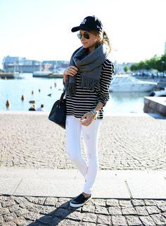 striped black & white - Mariannan