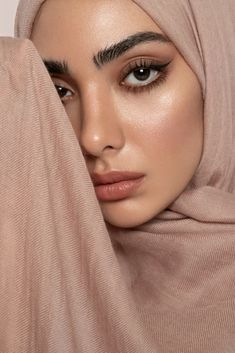 Warm Nude Cashmere Silk Hijab - A timeless essential which brings warmth to colder days. Created in premium warm nude tone, perfect for tying any outfit together Modest Fashion Hijab, Muslim Fashion, Fashion Clothes, Slow Fashion, Fashion 2020, Ladies Fashion, Fashion Fashion, Fashion Ideas, Fashion Tips
