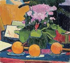 Amiet Still life with oranges