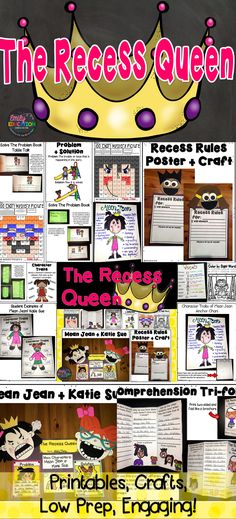 The Recess Queen by. Alexis O'Neill Activities. Perfect for the beginning of the year, but great for any of the time! Crafts, printables, graphic organizers, and more!