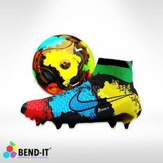 """""""What if there was a Nike Magista boot with the Brazil-It ball theme? Double tap if you ❤ them! - Purchase this Brazil-It ball at www.BendItSoccer.com or…"""""""