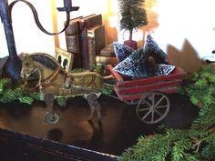 Gibbs horse & cart