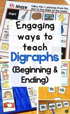 Kindergarten Literacy, Literacy Activities, Teaching Resources, Math Games, Emergent Literacy, Phonics Games, Educational Activities, Math Graphic Organizers, Common Core Reading