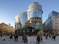Haas Haus, Stephansplatz, Wien, Austria We love Wien! http://www.ostheimer.at