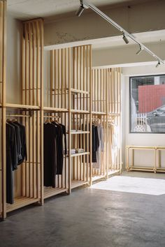 The flagship store for ethical clothing brand Kowtow in the New Zealand capital, which opened 11 years after the fashion brand was founded, is set within a former bakery.