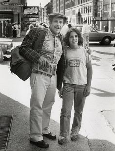 Jerry and Ben Stiller in this retro picture. Jerry, actor and comedian, and his son, Ben, now all grown up, and a great comedian/actor himself.