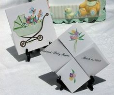 Baby Showers Favors - Exclusive Design for a touch of green these are beautiful guest gifts to grow memories of your new baby.$1.49 ea