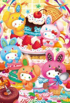 Hello Kitty #bunnies (^_^*)