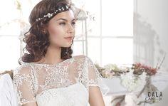 CAPRI   Bohemian Wedding Dress   2015 Cala Collection   by Sara Villaverde   Villais