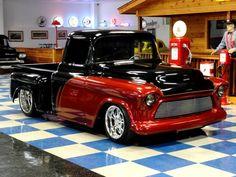 A & E Classic Cars : Classic Cars For Sale : 1956 Chevrolet 3100 Stepside Custom