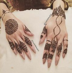 Mehndi Design to Back hands