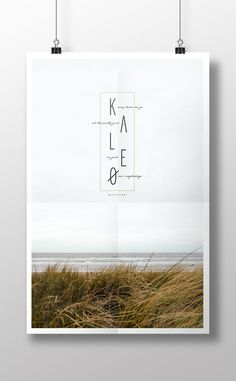 Kaleo Music Poster - An awesome Icelantic band similar to Bon Iver and Band of Horses. They are coming to US to tour, see my blog to listen to some of their music-West End Girl Studio