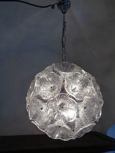70er VEB Glasschirm weiss LAMPE Ersatzglas GDR LAMP SHADE GLASS spare part 70s