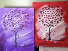 Valentine paintings