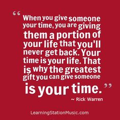 Awesome This Is So True, And When We Find The Time To Give To Others And