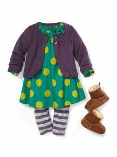 Baby Clothing: Baby Girl Clothing: We ♥ Outfits | Gap - Size 12 months for Tessie.   (We have the dress already!)