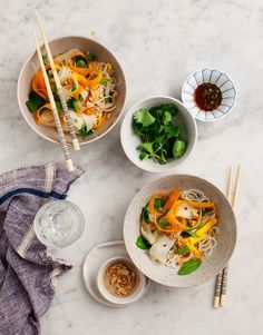 Mango and Daikon Glass Noodle Salad from The Love and Lemons Cookbook