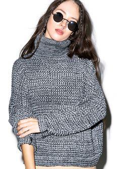 So Heated Turtleneck Sweater