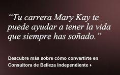 estupendos productos de Mary Kay...y su apasionante carrera!!!
