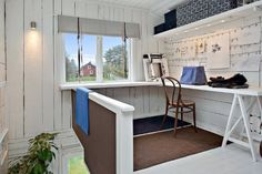 swedish workspace (via desire to inspire)