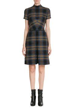 Wool-Linen Dress - Etro | WOMEN | US STYLEBOP.COM