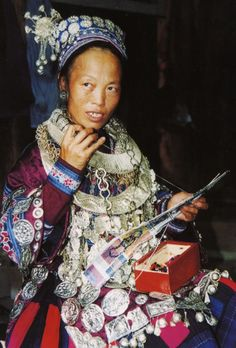 Asia: Miao woman, China