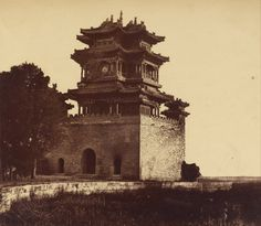 Imperial Summer Palace (Qing Dynasty China), by Felice Beato, 1860