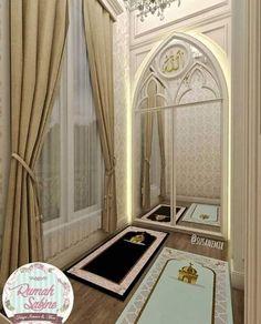 Place for Salat (Namaz / نماز) Home Room Design, Home Interior Design, House Design, Prayer Corner, Islamic Decor, Islamic Prayer, Prayer Room, Room Goals, Room Tour