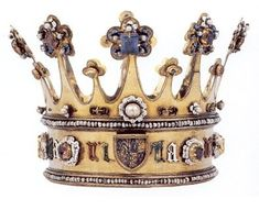 The Crown of Margaret of York made circa 1300 CE.