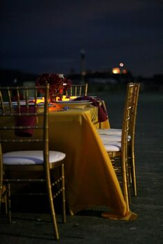 pop-up dinner party at a cool place around town; love this one on the pier in front of Ghiradelli Square in San Francisco