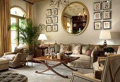 Elegant Classic Living Room