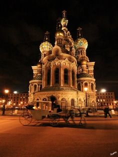 Resurrection Church of Our Saviour, St. Petersburg, Russia. by carter flynn