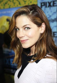 Michelle Monaghan topped our best beauty look list this week. See why on Vogue.com.