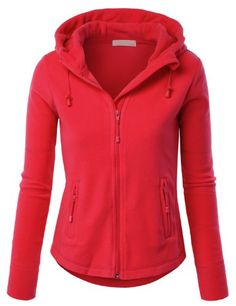 LE3NO Womens Active Basic Fitted Zip up Fleece Hoodie Jacket LE3NO http://www.amazon.com/dp/B00GZ6NESI/ref=cm_sw_r_pi_dp_qe9-tb1HX3VGV