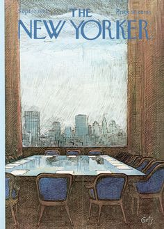 The New Yorker - Monday, September 17, 1973 - Issue # 2535 - Vol. 49 - N° 30 - Cover by : Arthur Getz
