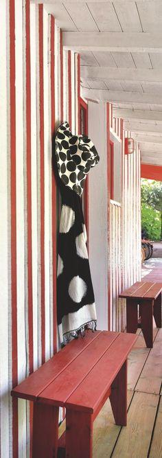 Maison de pêcheur rénovée pour vacances en famille au Cap Ferret - Côté Maison Outdoor Furniture, Outdoor Decor, Bench, House, Danette, Design, Home Decor, Bordeaux, 1