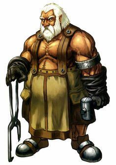 m npc Dwarf Blacksmith Weaponsmith Fortress mountain - Pathfinder PFRPG DND D&D Fantasy Grounds Fantasy Dwarf, Fantasy Rpg, Medieval Fantasy, Fantasy Artwork, Dwarven Armor, Dwarven City, Fantasy Heroes, Fantasy Races, Game Character Design