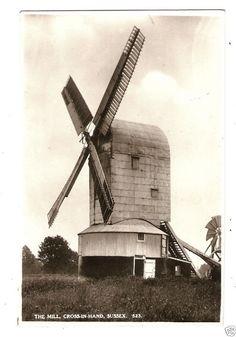 YJJ Early Postcard, The Windmill, Cross-in-Hand, Sussex | eBay