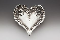 Silver Spoon Brooches - Montery