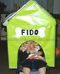 Dog house costume for baby in stroller Diy Dog Costumes, Homemade Costumes, Costume Ideas, Up Halloween, Halloween Costumes, Tumeric For Dogs, Homemade Dog, Cute Puppies, Something To Do