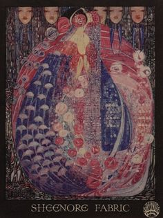 The Silver Apples of the Moon by Margaret Macdonald Mackintosh. Description from pinterest.com. I searched for this on bing.com/images